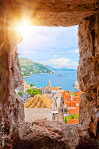 Fotografie, Obraz  Dubrovnik, Kroatien