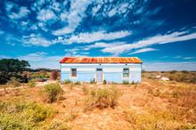 Colored Rural House In The Winderness Of Mandela Bay, Mandela Bay
