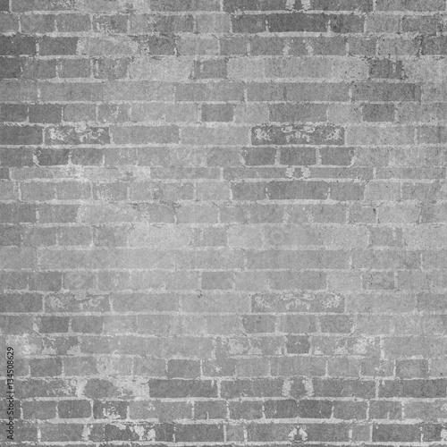 Grey grunge brick background