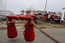 Fire Hose With Water Pressure,...