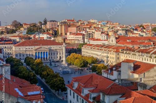 Photo  Vista da parte central da Lisboa
