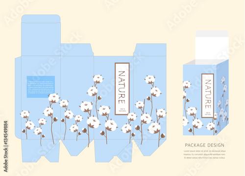 Fototapety, obrazy: Pattern Package Design