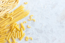 Assorted Uncooked Pasta