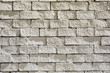 White brick wall for texture or background,Original color.