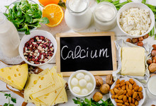 Products Rich In Calcium.