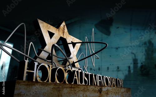 Holocaust Memorial Day Symbol Buy This Stock Photo And Explore