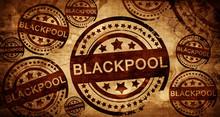 Blackpool, Vintage Stamp On Pa...