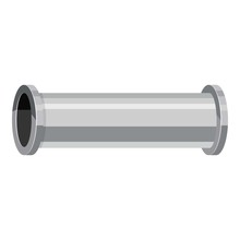 Water Pipe Icon, Cartoon Style