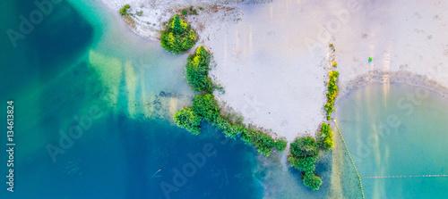 Mauritius - beautiful beach panoramic view Poster Mural XXL