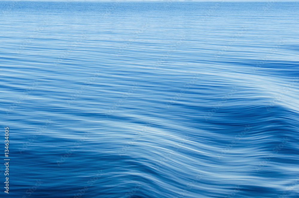 Fototapety, obrazy: Waves on surface of water.