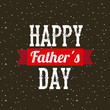 happy father's day card. colorful design. vector illustration