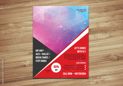 Dance studio flyer buy this stock template and explore similar dance studio flyer maxwellsz