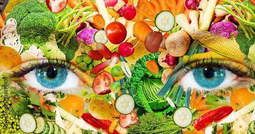 Fotografie, Obraz  Gesund ernähren - Healthy lifestyle