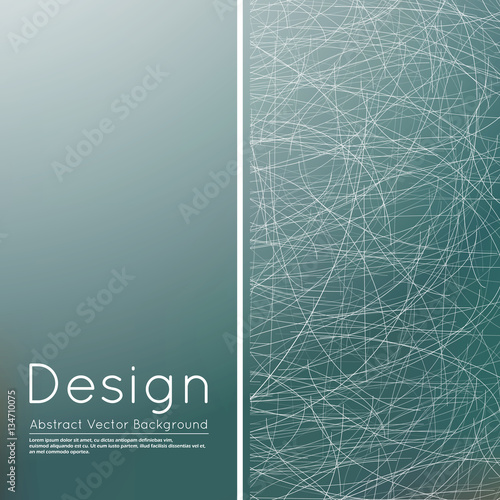Abstract composition, text frame surface, grey wallpaper, creative figure, white lines interlacement icon, title sequence, startup display, screen saver, ...