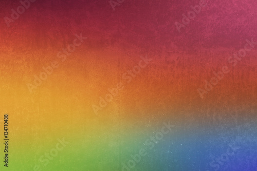 fototapeta na szkło pastel gradient colors shade vintage filter retro light leak with grunge texture for background