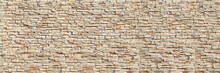 Horizontal Modern Brick Wall For Pattern And Background