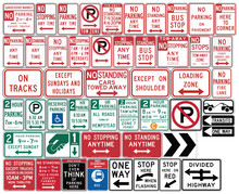 Road Signs In The United State...