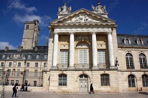 Poster Artistiek mon. Palais des ducs de Bourgogne à Dijon, France