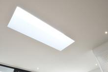 Skylight From Frame In Ceiling
