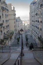 Typical Staircase In Montmartr...