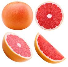 Grapefruit Isolated On White B...