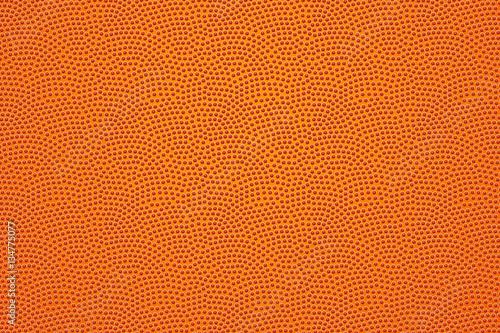 Basketball ball leather pattern, background. Vector Obraz na płótnie