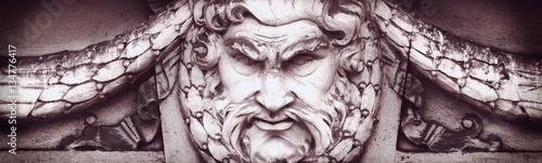 God Zeus Canvas Print