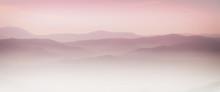 Mountain Layer In Morning Sun ...