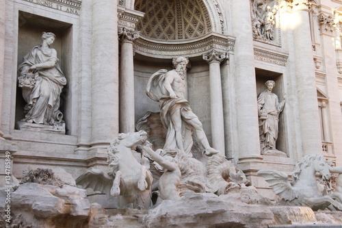 Photo  Rome - Fontaine de Trevi