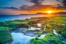 Sunrise At Laomei Green Reef, ...
