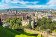 Panoramic view of Edinburgh, Scotland