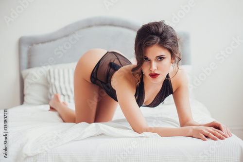 Lingerie and sexy poses