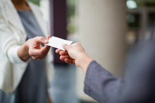 Business Executives Exchanging...