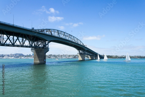 Keuken foto achterwand Bruggen View to the Harbour Bridge from Northcote Point Auckland
