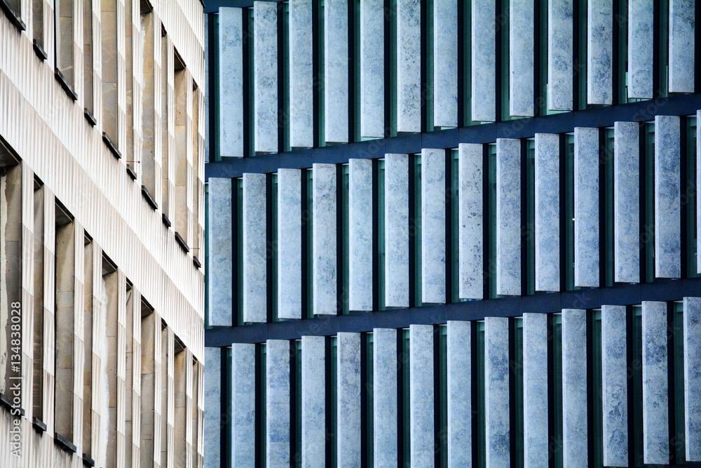 Modern architecture, Warsaw, Poland. Fot. Konrad Filip Komarnicki / EAST NEWS Warszawa 14.04.2015 Architektura Warszawy przy skrzyzowaniu ulic Moliera i Focha.
