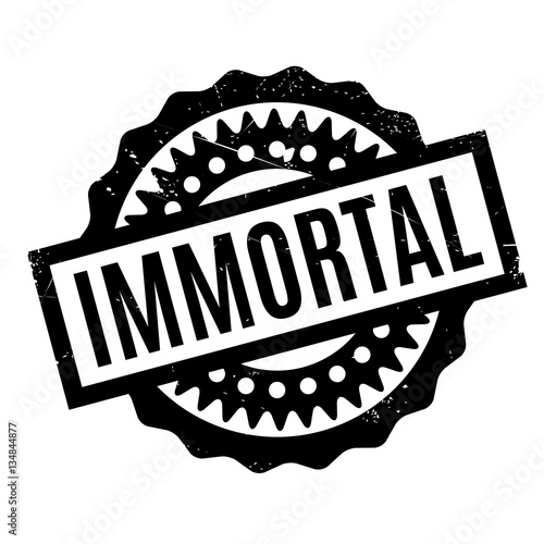 Immortal rubber stamp Fototapet