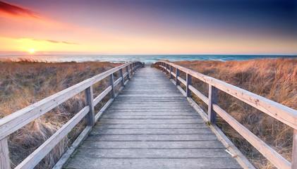 Strandübergang zur Ostsee - Frühling