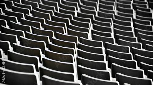 Leere Sitzplätze im Stadion von Barcelona Wallpaper Mural