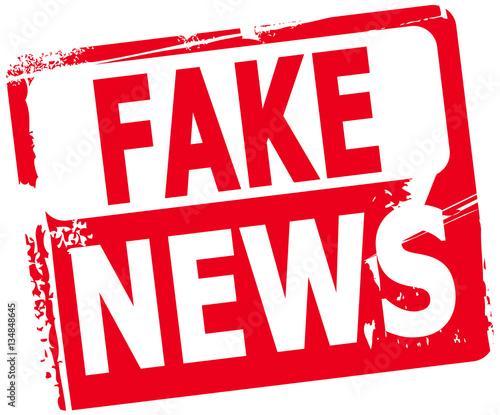 Fake News Fototapete