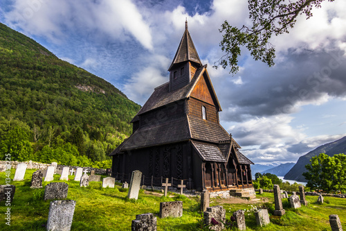 Photo July 23, 2015: The Stave Church of Urnes, Norway