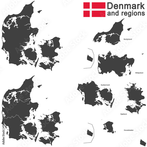 Photo  country Denmark and regions
