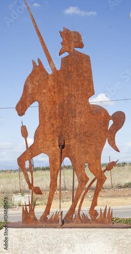 Photo  Quijote, San Bartolome de la Abiertas, Toledo, Spain