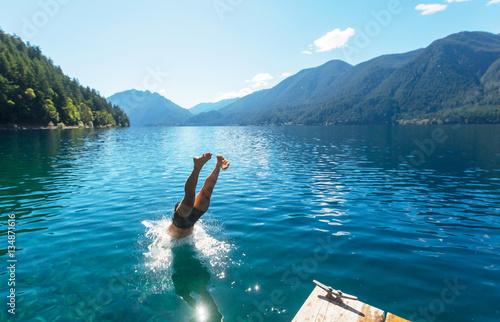 Fotografía  Jump in water