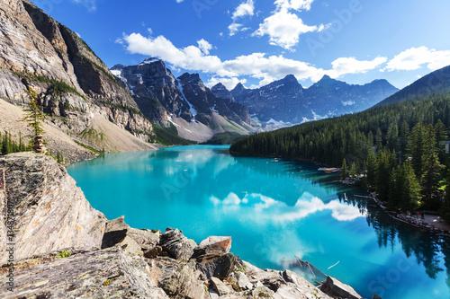 Fotobehang Meer / Vijver Moraine lake