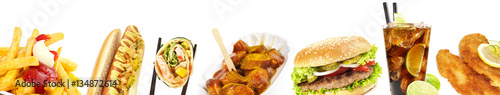 Fast Food - Panorama © ExQuisine