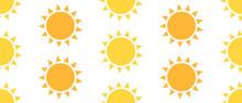 Sun Seamless Pattern