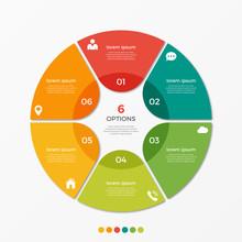 Circle Chart Infographic Templ...