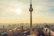 Overview of Berlin and the Fernsehturm