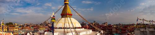 Fotografie, Obraz  Boudhanath Stupa Nepal