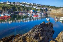 Mevagissey Harbour Cornwall UK...